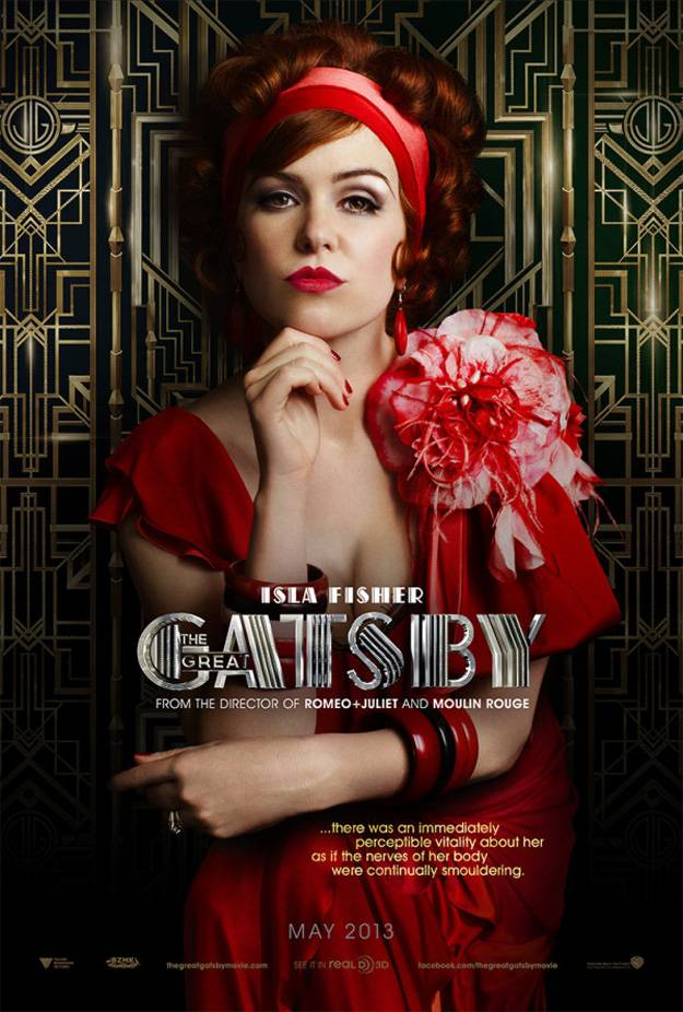 Movie News: The Great Gatsby gets new posters | InSession Film The Great Gatsby 2013 Poster