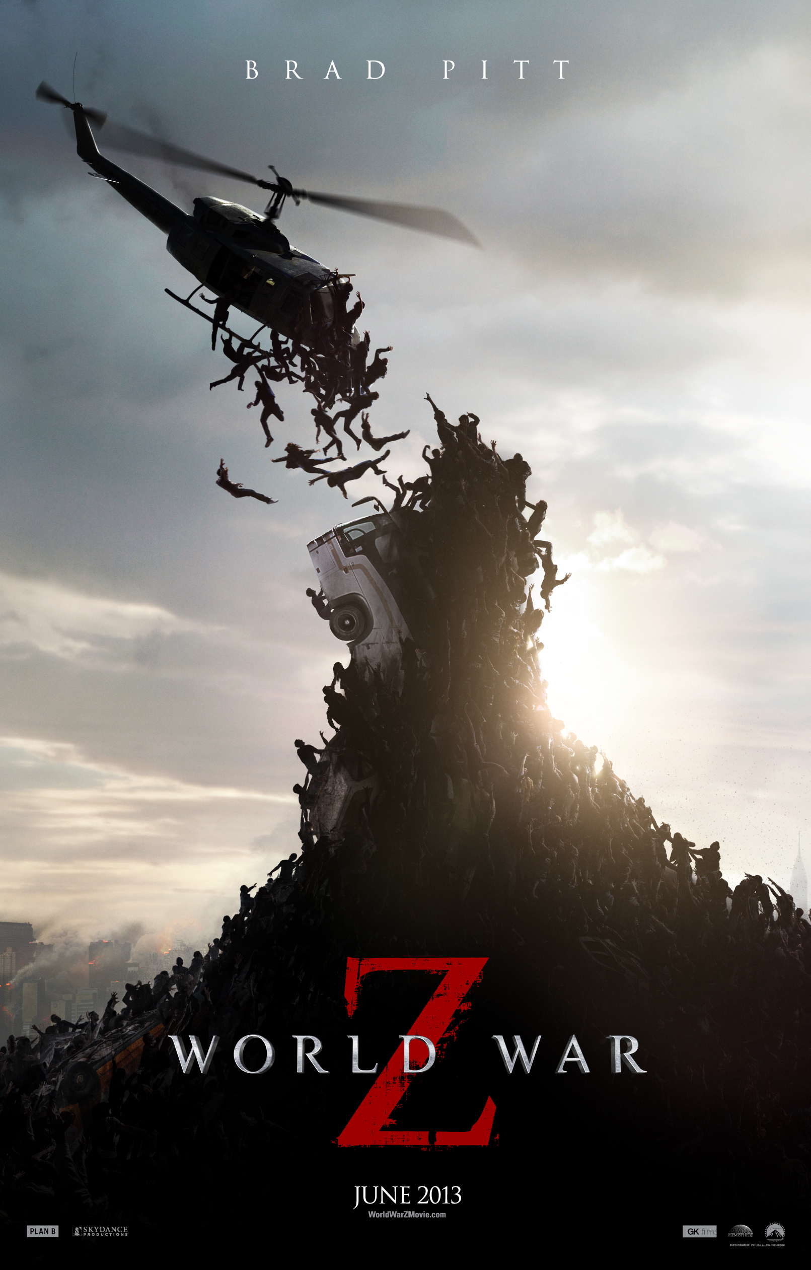 Movie Trailer World War Z Gets New Trailer Poster
