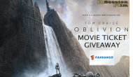 Featured: Win FREE movie tickets to Oblivion!
