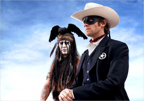 Movie Review: The Lone Ranger is too inconsistent for two and half hours