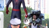 Movie News: Rhino gets a suit and Spider-Man gets a sidekick in new set photos