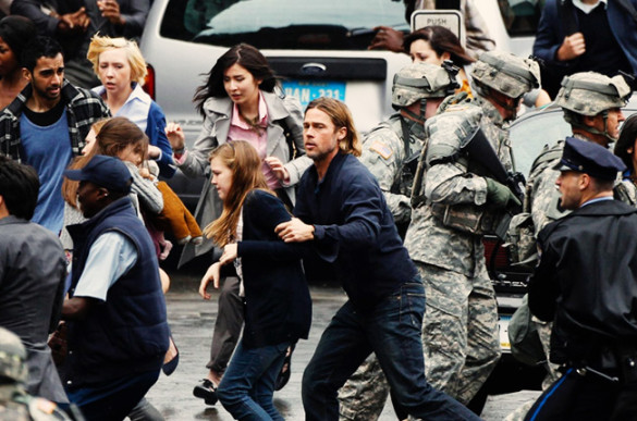 Movie Review: World War Z brings the intensity