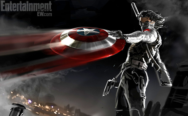 Captain America Winter Soldier Movie