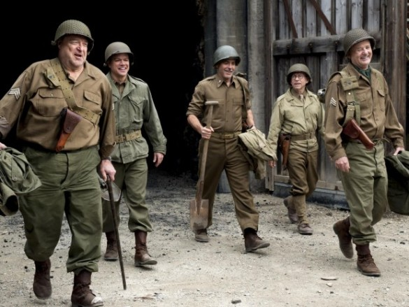 Movie Review: The Monuments Men Is An Artsy Mess