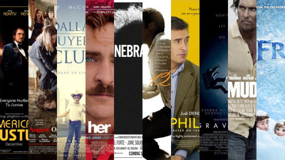 Podcast: InSession Film Awards, Top 10 Movies of 2013 – Episode 46