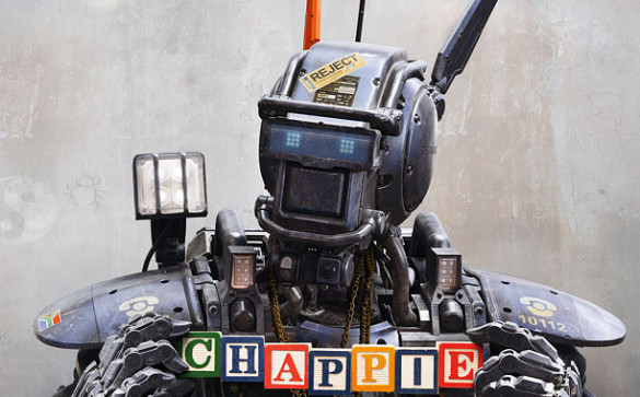 Podcast: Chappie, Top 3 Movie Robots – Episode 107