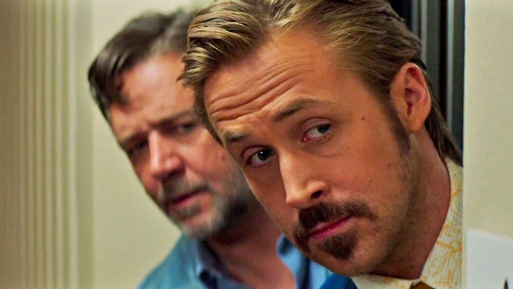 The Nice Guys - Ryan Gossing, Russell Crowe