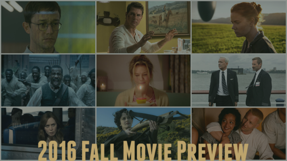 Podcast: 2016 Fall Movie Preview, The Best Years for Movies – Episode 185