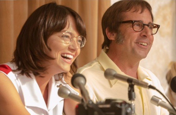 Movie Review: 'Battle of the Sexes' underwhelms despite a stuffing of winning gears