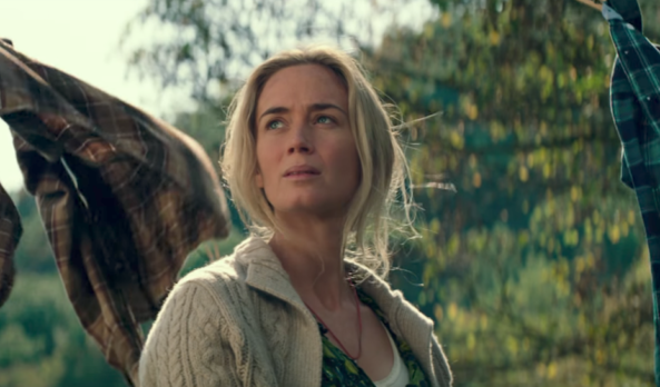 Movie Review: Nerves and unease spark the unseen horrors of 'A Quiet Place'