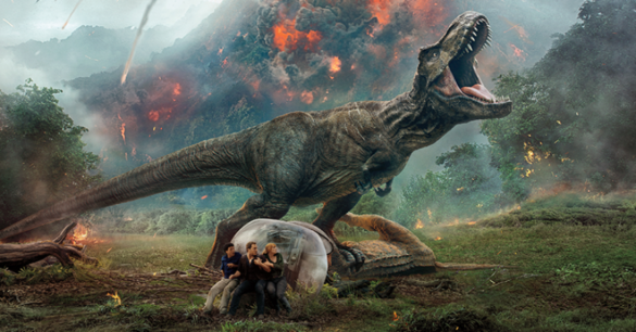 Movie Review: All beauty and no brain powers 'Jurassic World: Fallen Kingdom'