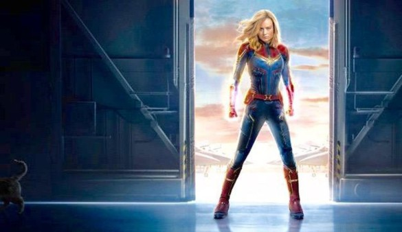 Movie Review: Brie Larson helps make 'Captain Marvel' fun and inspiring