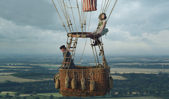 Movie Review: 'The Aeronauts' is visually dazzling but narratively uneven