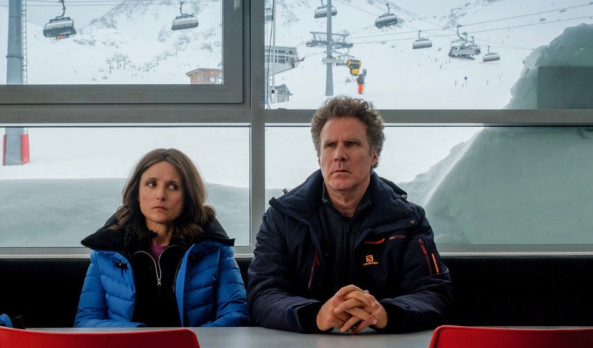 Movie Review: 'Downhill' is better off buried under an avalanche