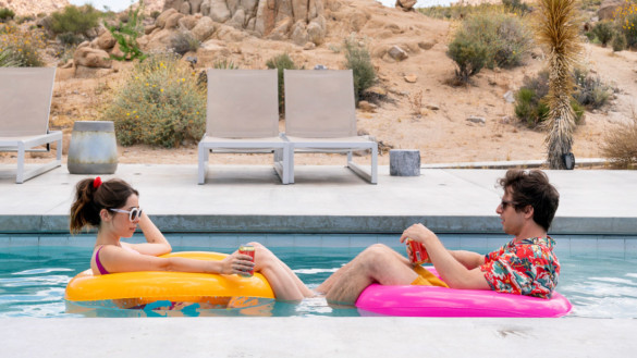 Movie Review: 'Palm Springs' is a loopy love story to put on when you're feeling existential