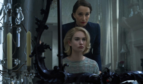 Movie Review: Kristin Scott Thomas' Sinister Performance is Not Enough to Save 'Rebecca'